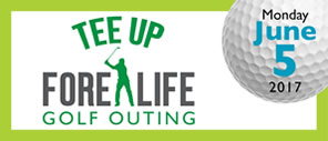 Tee Up Fore Life Golf Outing